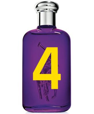 Ralph Lauren Big Pony Purple #4 Eau de Toilette Spray, 3.4 oz