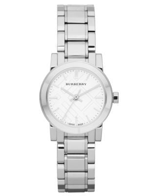 Burberry Watch, Women's Swiss Stainless Steel Bracelet 26mm BU9200