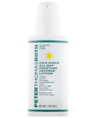 Peter Thomas Roth Max Sheer All Day Moisture Defense Lotion SPF 30, 1.7 oz