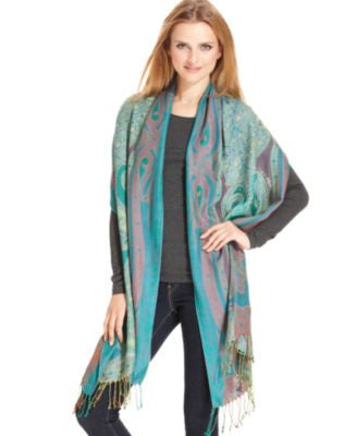 Collection XIIX Paisley Wrap Scarf