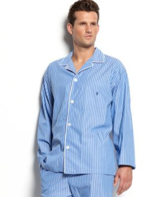 Polo Ralph Lauren Men's Pajamas, Manhattan Striped Top