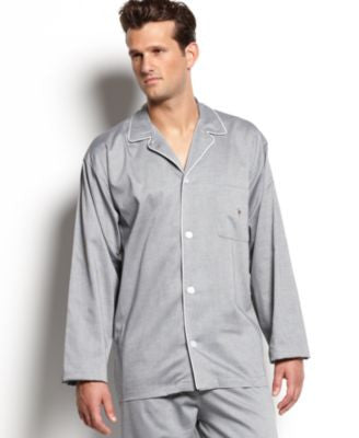 Polo Ralph Lauren Men's Woven Oxford Pajama Shirt