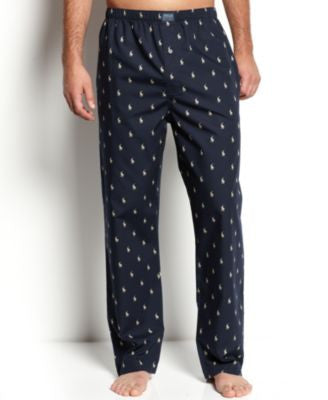 Polo Ralph Lauren Men's All Over Polo Player Pajama Pants