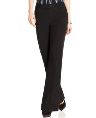 Calvin Klein Modern Tab-Front Trousers