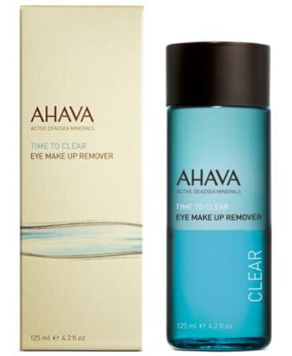 Ahava Time To Clear Eye Make Up Remover, 4.2 oz