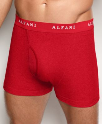 Alfani Men's Underwear, Assorted Tagless Boxer Brief 4 Pack
