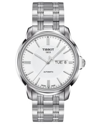 Tissot Watch, Men's Swiss Automatic III Stainless Steel Bracelet 39mm T0654301103100