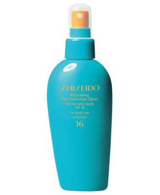Shiseido Refreshing Sun Protection Spray SPF 16, 5 oz