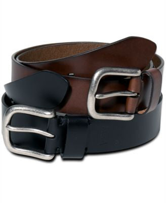Levi's 38mm Bartack Silver Buckle Belt