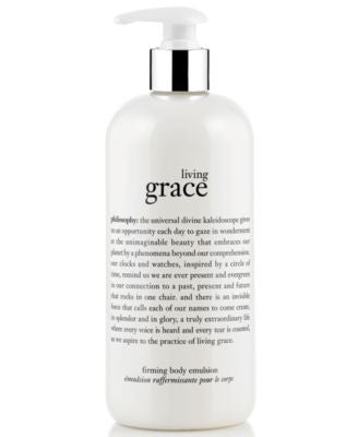 philosophy living grace body emulsion, 16 oz