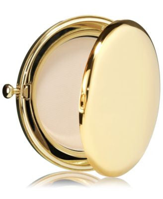 Estee Lauder After Hours Slim Gold Metal Compact