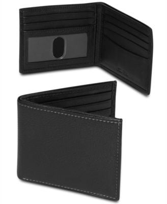 Tasso Elba Milled Slim Billfold Wallet