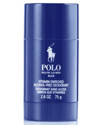 Ralph Lauren Polo Blue Deodorant Stick, 2.6 oz