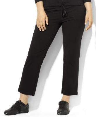 Lauren Ralph Lauren Plus Size Drawstring Active Pants