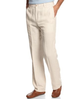 Tommy Bahama Big and Tall Men's New Linen on the Beach Pants