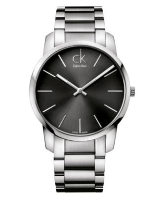 Calvin Klein Watch, Men's Swiss City Stainless Steel Bracelet 43mm K2G21161