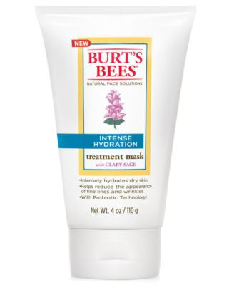 Burt's Bees Intense Hydration Treatment Mask, 4 oz