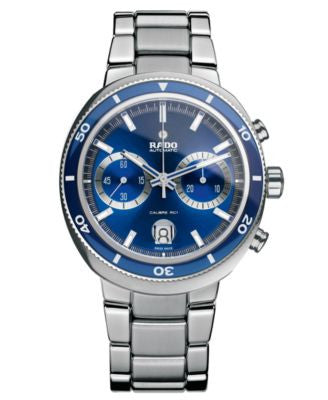 Rado Watch, Men's Swiss Automatic Chronograph D-Star 200 Stainless Steel Bracelet 44mm R15966203