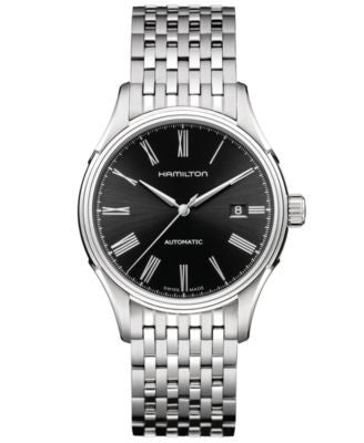 Hamilton Watch, Men's Swiss Automatic Valiant Stainless Steel Bracelet 40mm H39515134