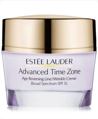 Estée Lauder Advanced Time Zone Age Reversing Line/Wrinkle Creme Broad Spectrum SPF 15, 1.7 oz
