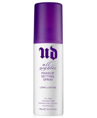 Urban Decay All Nighter Long-Lasting Makeup Setting Spray, 4 oz