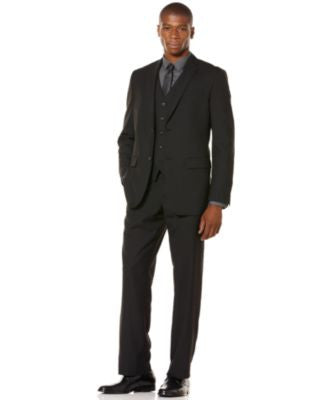 Perry Ellis Regular Fit Suit Separatess