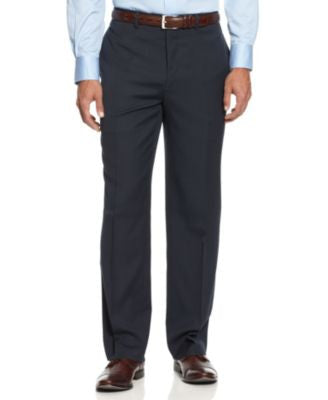 Alfani Navy Sharkskin Pants