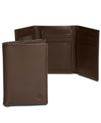 Lauren by Ralph Lauren Oil-Milled Trifold Wallet