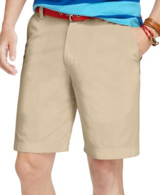 IZOD Big and Tall Saltwater Flat-Front Shorts