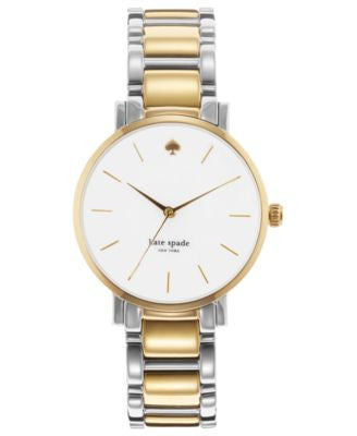 kate spade new york Watch, Women's Gramercy Two-Tone Stainless Steel Bracelet 34mm 1YRU0005