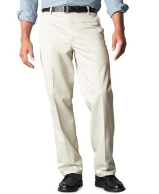 Dockers Signature Khaki Straight Fit Flat Front Pants, Limited Quantities
