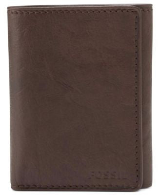Fossil Ingram Extra Capacity Trifold Leather Wallet