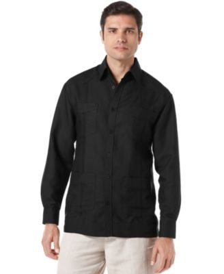 Cubavera Long Sleeve Guayabera Shirt