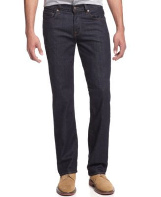 7 For All Mankind Men's Carsen Easy Straight Fit Jeans, Clean Dark