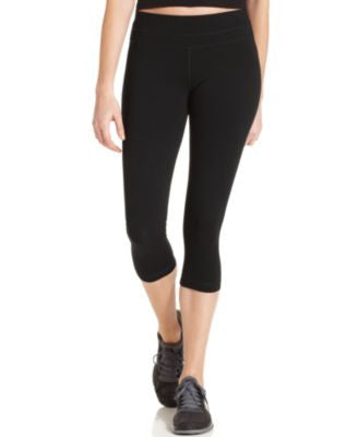 Ideology Active Cotton-Blend Cropped Leggings