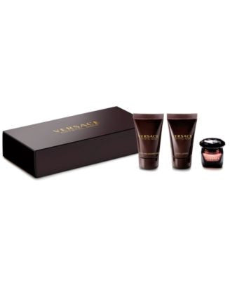 Receive a Complimentary 3-pc Gift with any large spray purchase from the Versace women's fragrance c