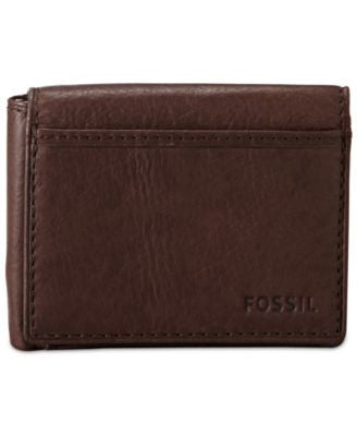 Fossil Ingram Flip TriFold Leather Wallet