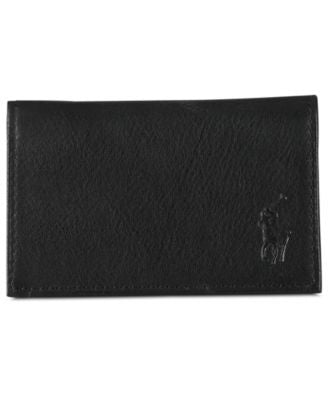 Polo Ralph Lauren Men's Accessories, Pebbled Leather Slim ID Card Case