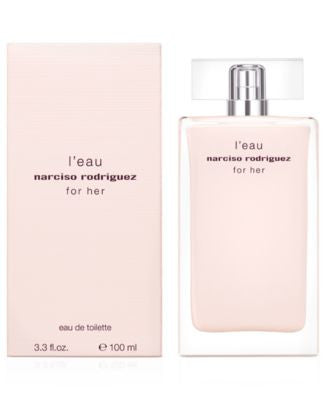 narciso rodriguez for her l'eau eau de toilette fragrance collection