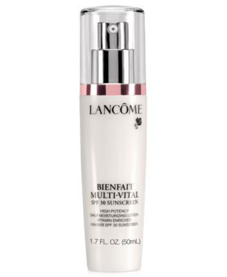 Lancôme BIENFAIT MULTI-VITAL SPF 30 LOTION 24-hour Moisturizing Lotion Antioxidant and Vitamin Enric