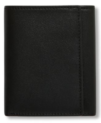 Perry Ellis Men's Leather Gramercy Trifold Wallet