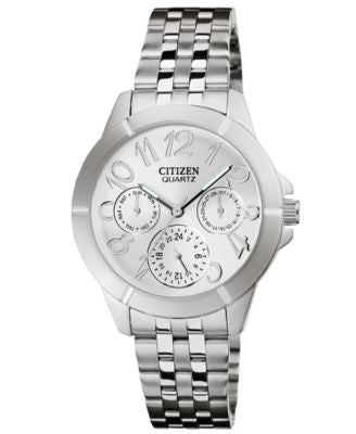 Citizen Women's Stainless Steel Bracelet Watch 35mm ED8100-51A