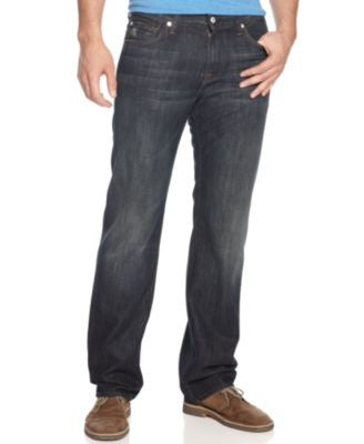 7 For All Mankind Men's Austyn Relaxed Straight Fit Jeans, Montana