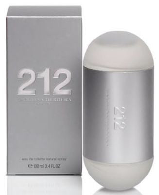 212 by Carolina Herrera Eau de Toilette Spray, 3.4 oz.