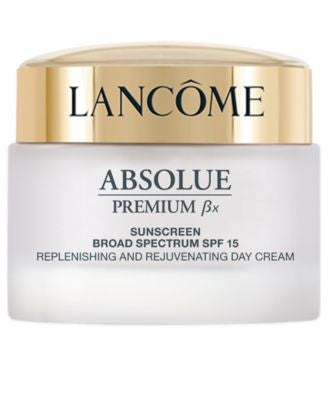 Lancôme Absolue Premium Bx Absolute Replenishing Cream SPF 15 Sunscreen, 2.6 oz
