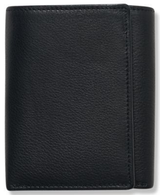 Perry Ellis Men's Leather Park Avenue Trifold Wallet