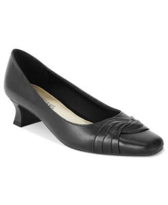Easy Street Kitten Heel Tidal Pumps