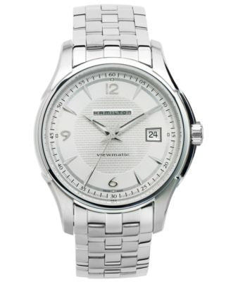 Hamilton Watch, Men's Swiss Automatic Jazzmaster Viewmatic Stainless Steel Bracelet 40mm H32515155