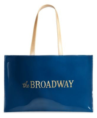 The Broadway Large Open Tote with Logo