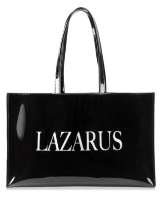 Lazarus Large Open Tote with Logo